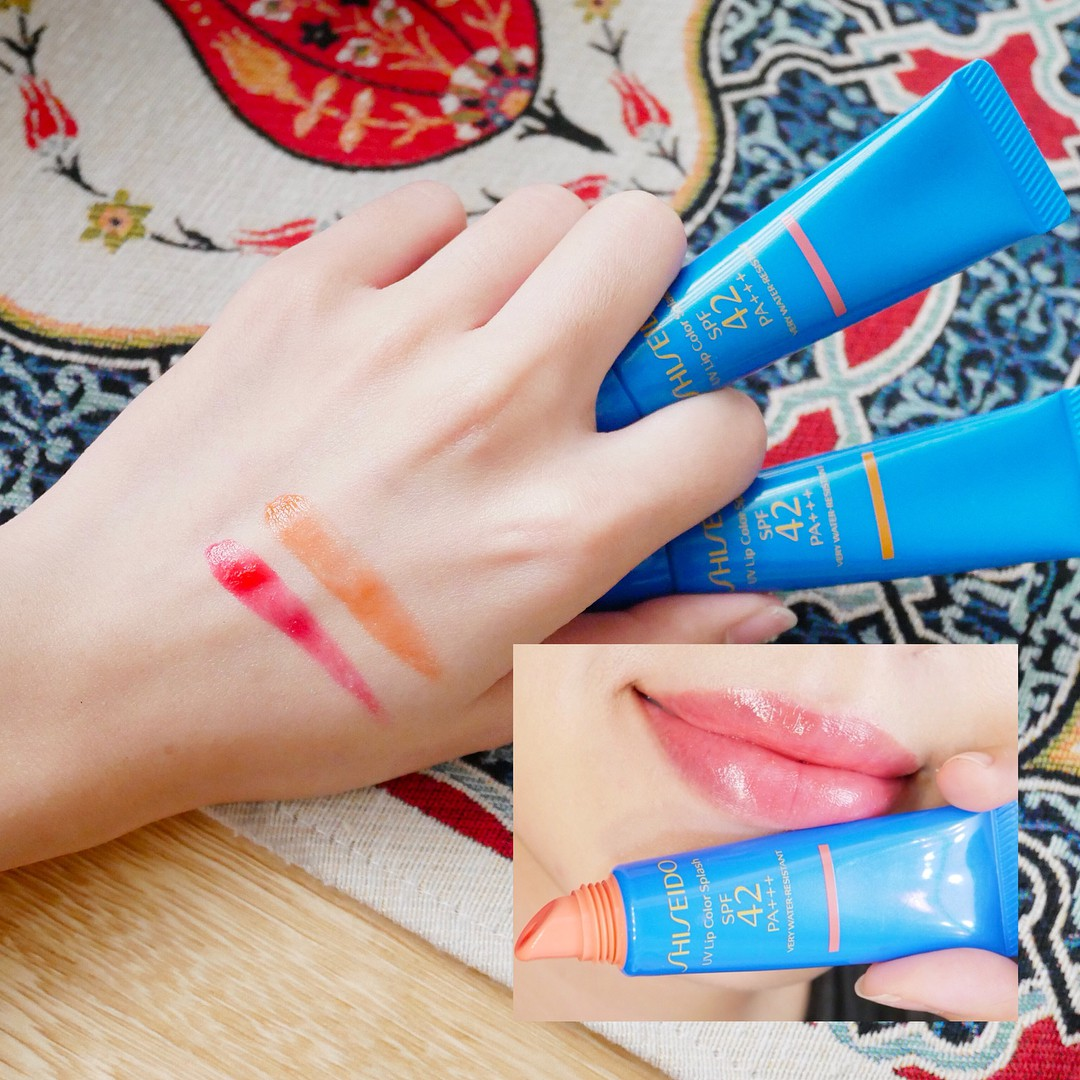 Shiseido UV Lip Color Splash SPF50+ - Ảnh: Internet
