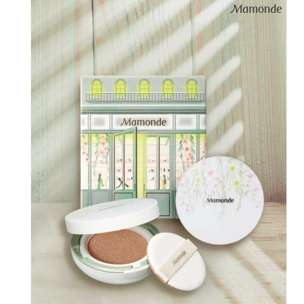 Mamonde Brightening Cover Powder Cushion SPF50++/PA+++