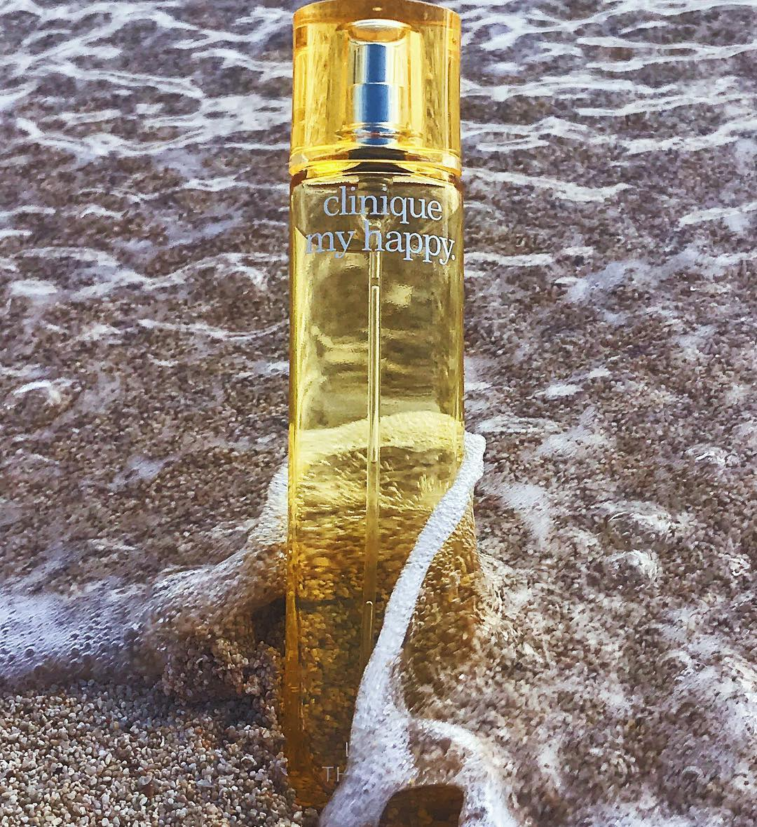 Clinique My Happy Perfume Spray in Lily of the Beach - Ảnh: Instagram