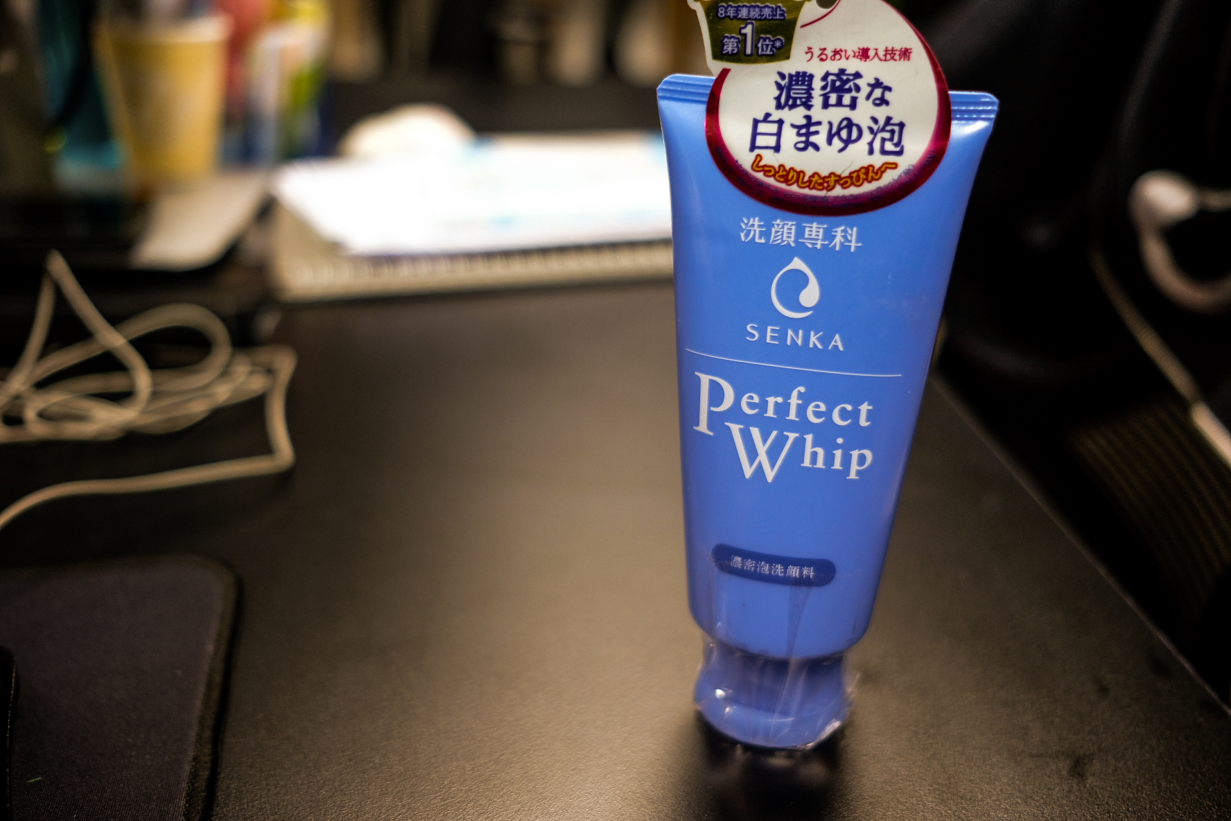 Review sữa rửa mặt Senka Perfect Whip Cleansing