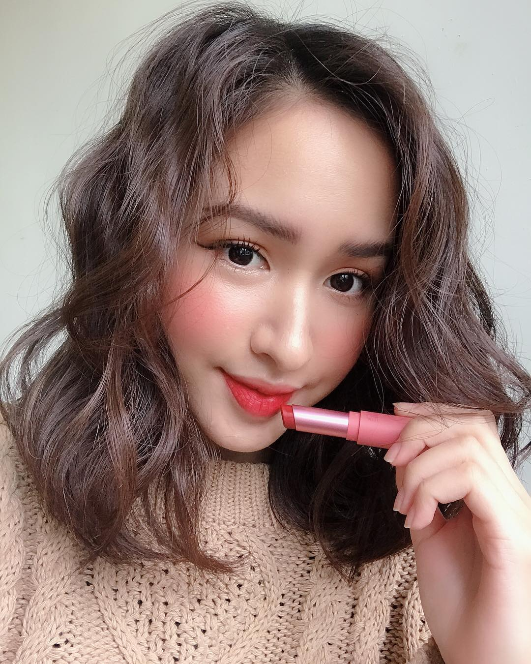 Son Black Rouge Rose Velvet Lipstick - Ảnh: Instagram