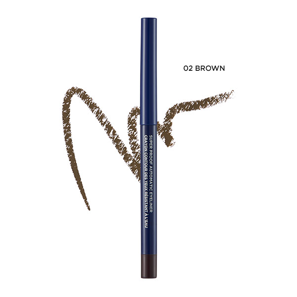 Kẻ mắt nước The Face Shop Superproof Automatic Eyeliner
